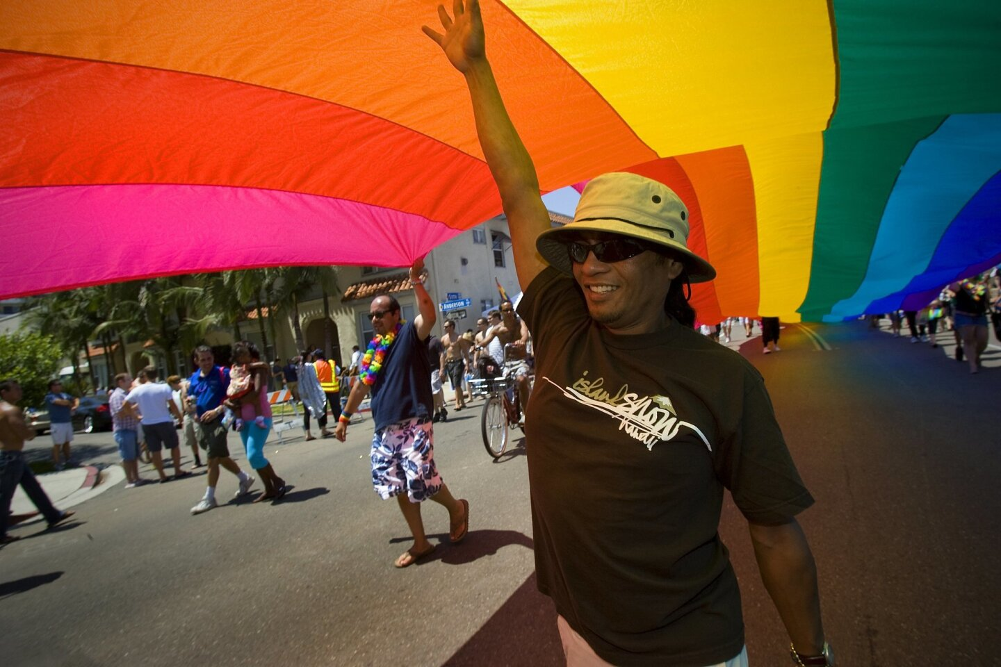 San Diego's annual Pride Parade and Festival is this weekend