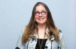 Janet Fitch is interviewed at the 2019 LA Times Festival of Books