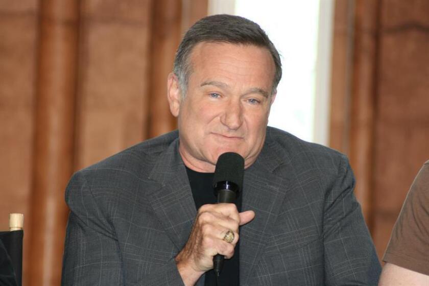 El actor y cómico estadounidense Robin Williams. EFE/Archivo