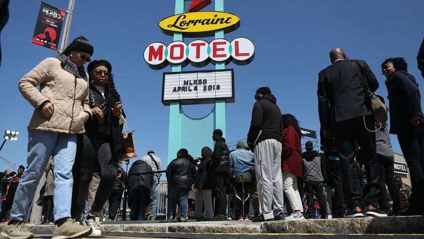 Memphis Marks 50th Anniversary Of Martin Luther King Jr's Assassination