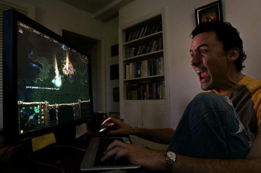 A gamer in 2007
