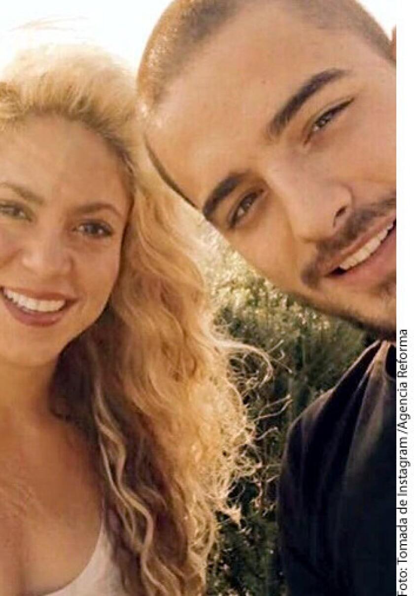 Primero fue Ricky y ahora Shakira la que se cautiva con Maluma