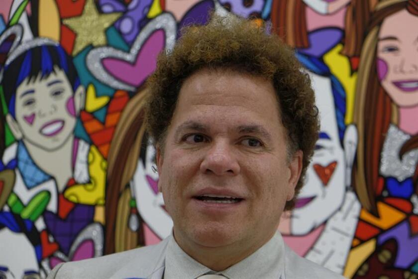 El artista Romero Britto durante un evento. EFE/Archivo