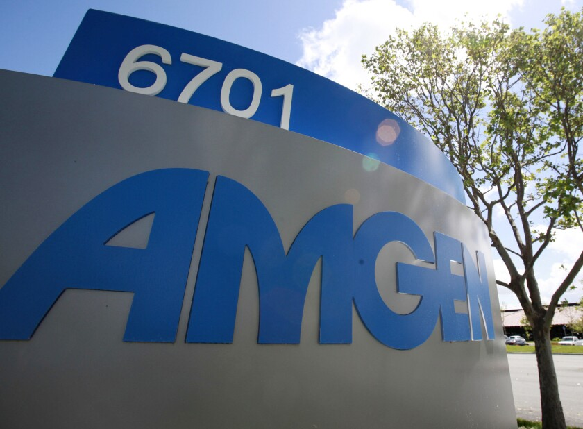 Thousand Oaks-based Amgen could cut 4,000 jobs by the end of next year.