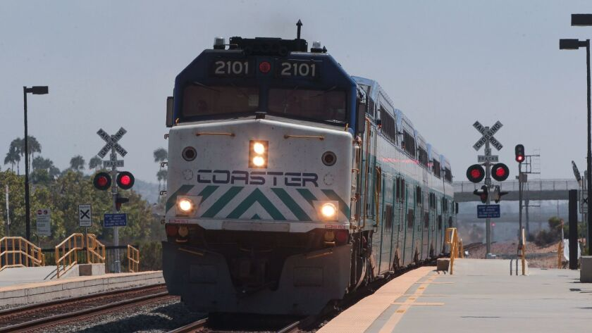 North County Transit District plans to almost double frequency of Coaster trains by 2024.