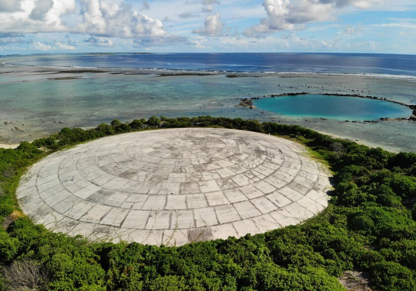 island location Bikini