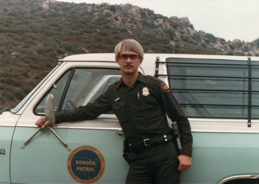 Chancy Arnold was a rookie Border Patrol officer in 1985.