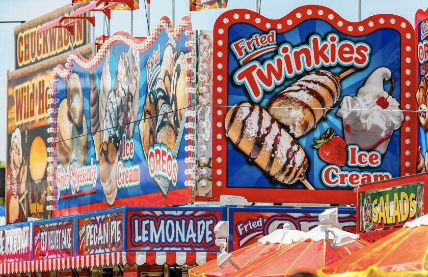 The OC Fair is gearing up for its July 15 opening — with all its quirky foods.