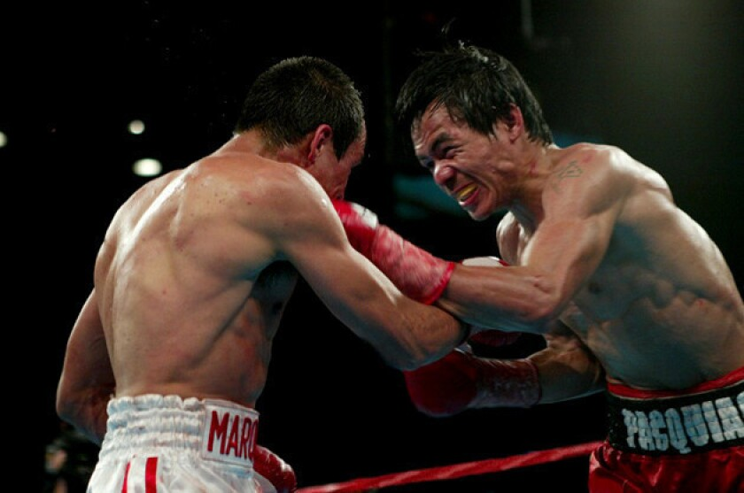 Manny Pacquiao planning pure aggression for Juan Manuel Marquez