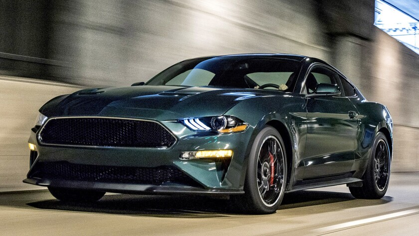 The 2019 Mustang Bullitt is rated by Car and Driver at an acceleration rate of zero to 60 mph in 4.2 seconds, and a top speed of 163 mph.