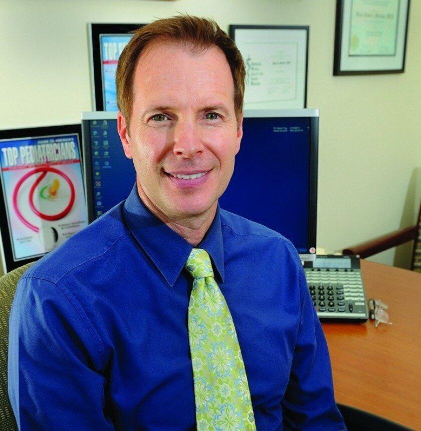 Scripps sports medicine pediatrician Dr. Paul Stricker