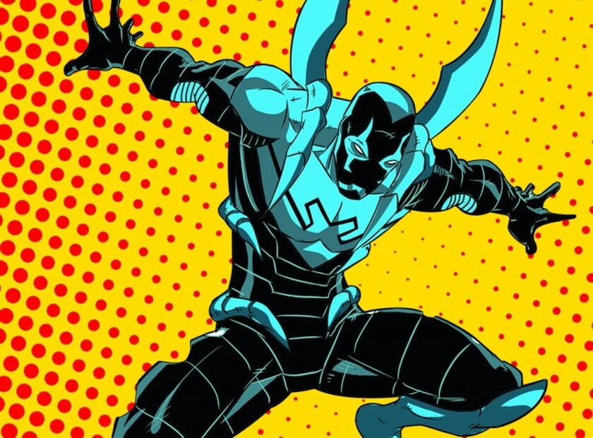 Blue Beetle, personaje, DC Comics.