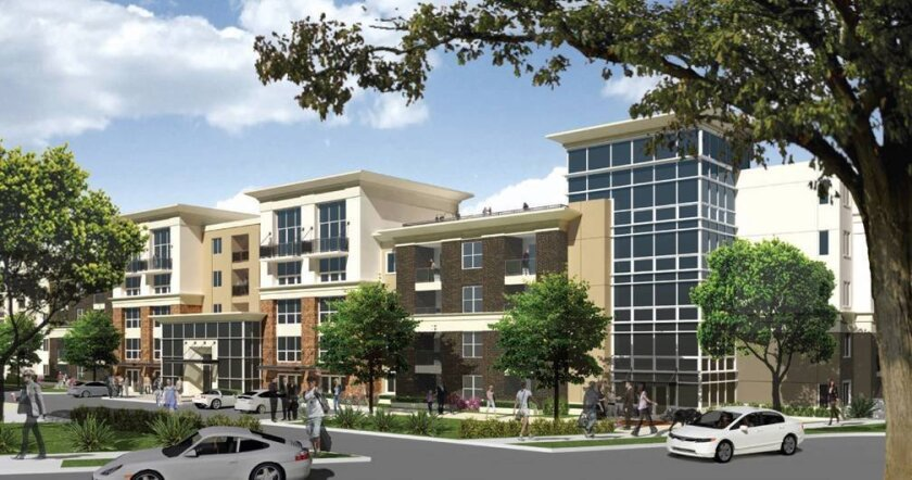 West Park will be a five-story, two-building complex of 612 apartments.