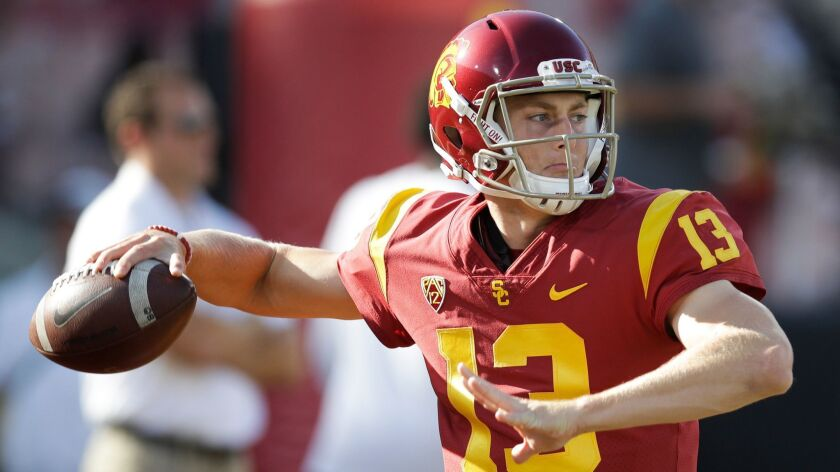 Former USC quarterback Jack Sears commits to San Diego State