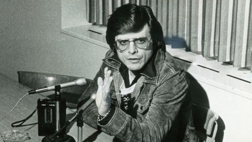 Writer Harlan Ellison in 1978. CREDIT: Times File Photo