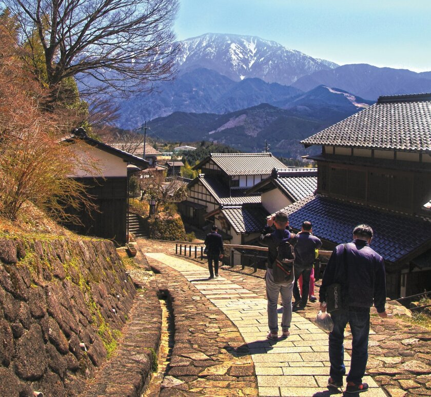 Magome is one of many towns that served travelers along the historic Kiso Road.