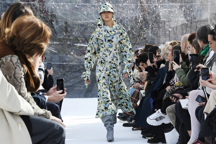 Review: Here's how Marine Serre and Kenzo have your fall dystopian wardrobe covered