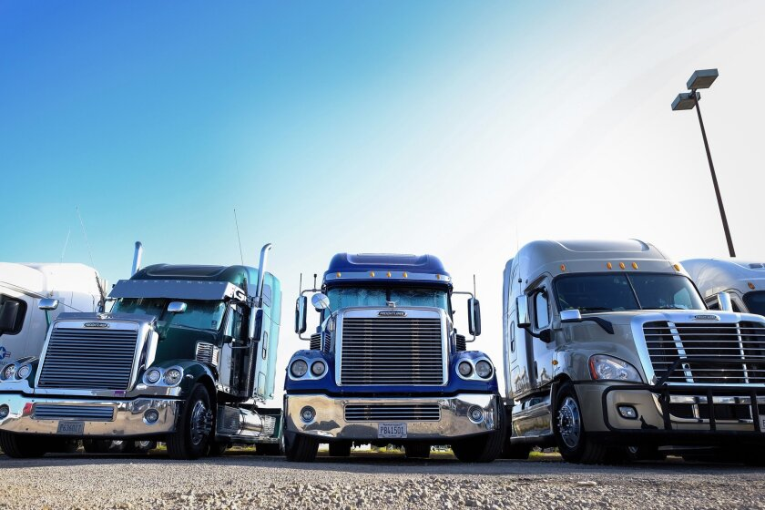 A Department of Transportation pilot program will soon allow some drivers as young as 18 to drive cross-country for private trucking companies.