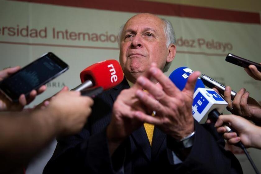 En la imagen, el inmunólogo colombiano Manuel Elkin Patarroyo. EFE/Archivo