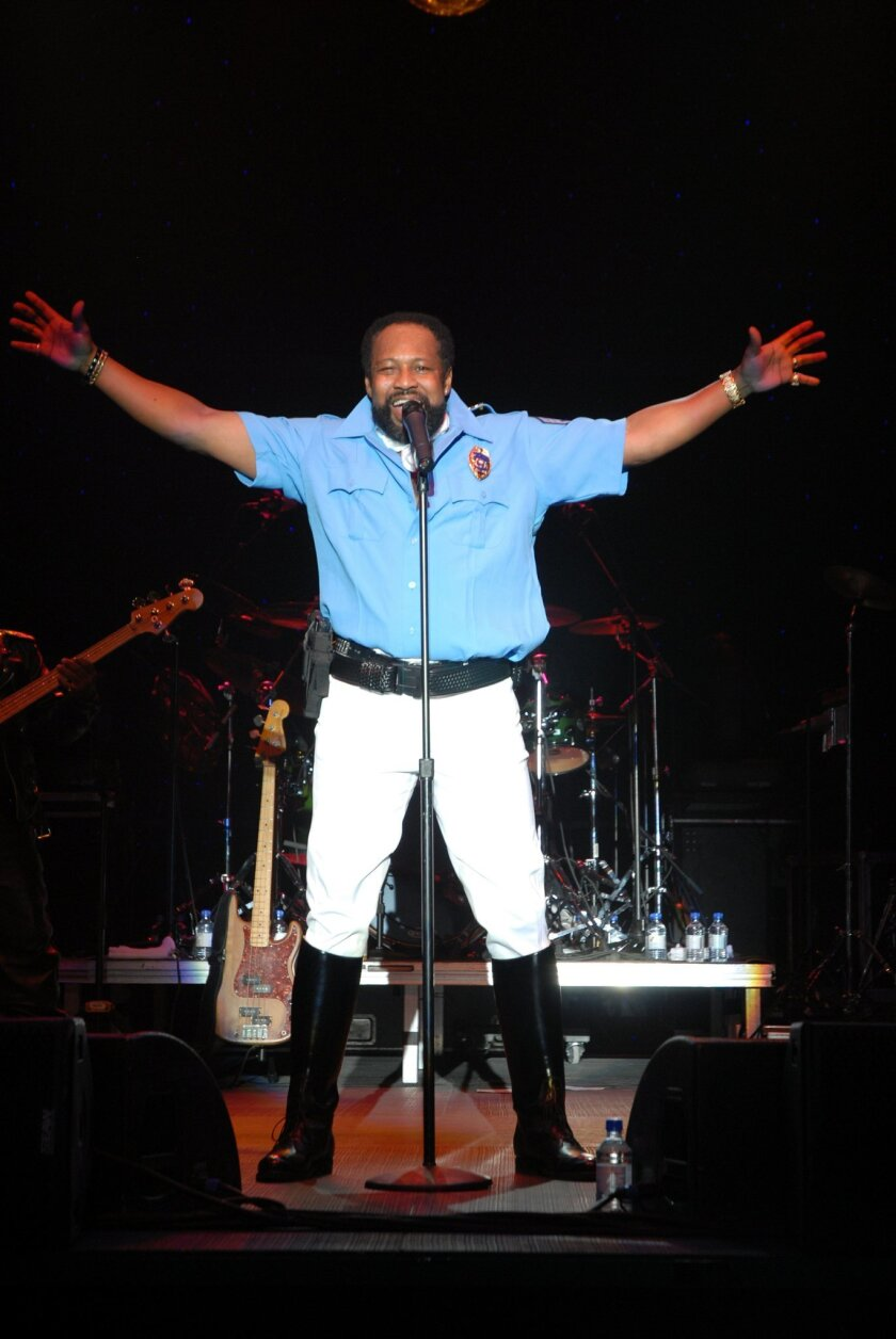 Victor Willis in concert in 2014 in Slovakia. Courtesy photo