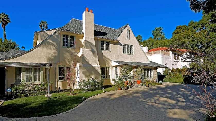 """The longtime home of the late Al Martino, known for his role in """"The Godfather,"""" sold in Beverly Hills for $7.8 million."""