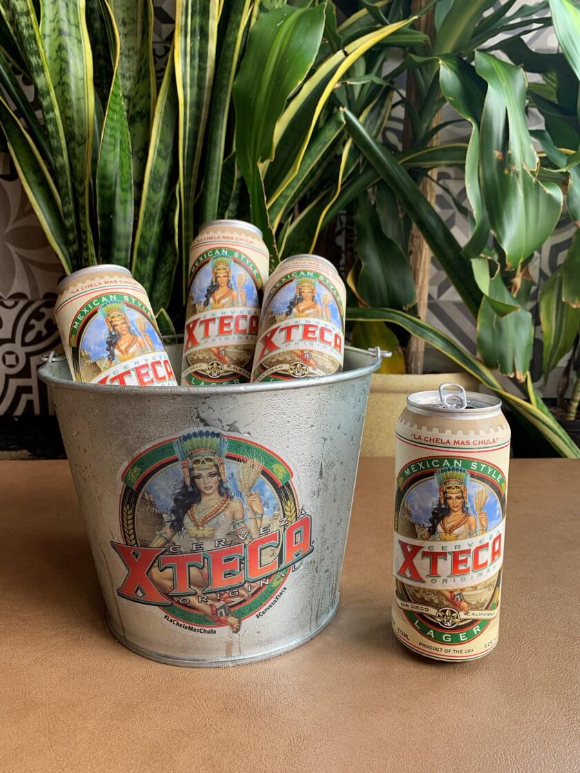 Cerveza Xteca.