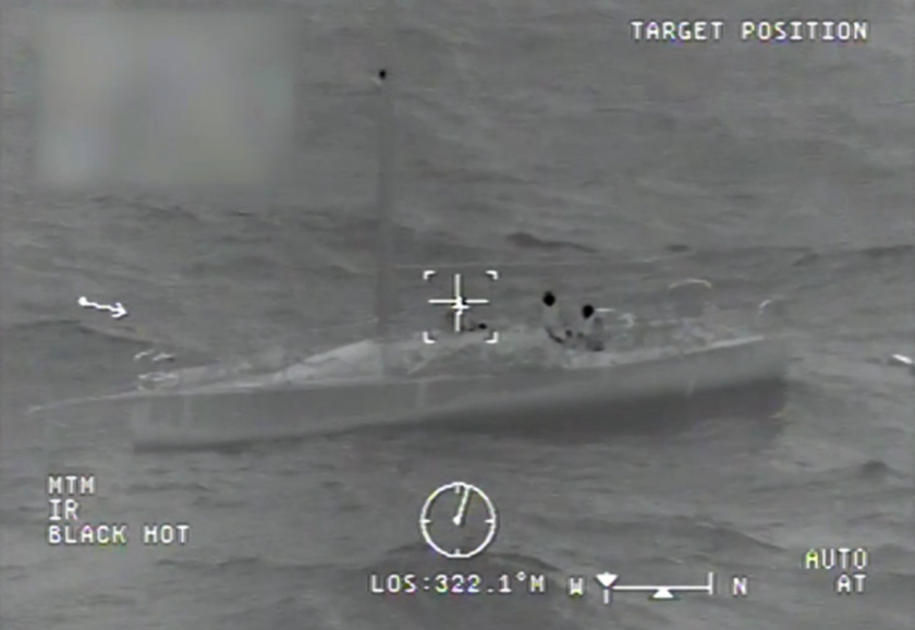 Three sailors were rescued from a sinking yacht by the U.S. Coast Guard last week. The 45-foot yacht was bound for Newport Beach from Hawaii.