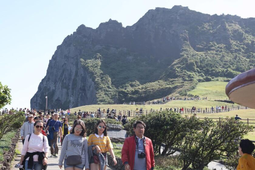 Jeju Island tourism, Korea - 07 Oct 2017