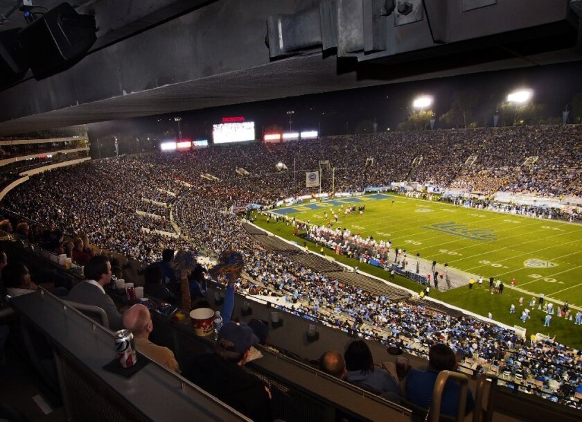The UCLA football team will play its first game Aug. 31 against Nevada at the Rose Bowl.
