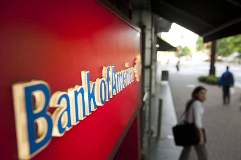 Bank of America earned $3.6 million from welfare transactions in one year, the report said.