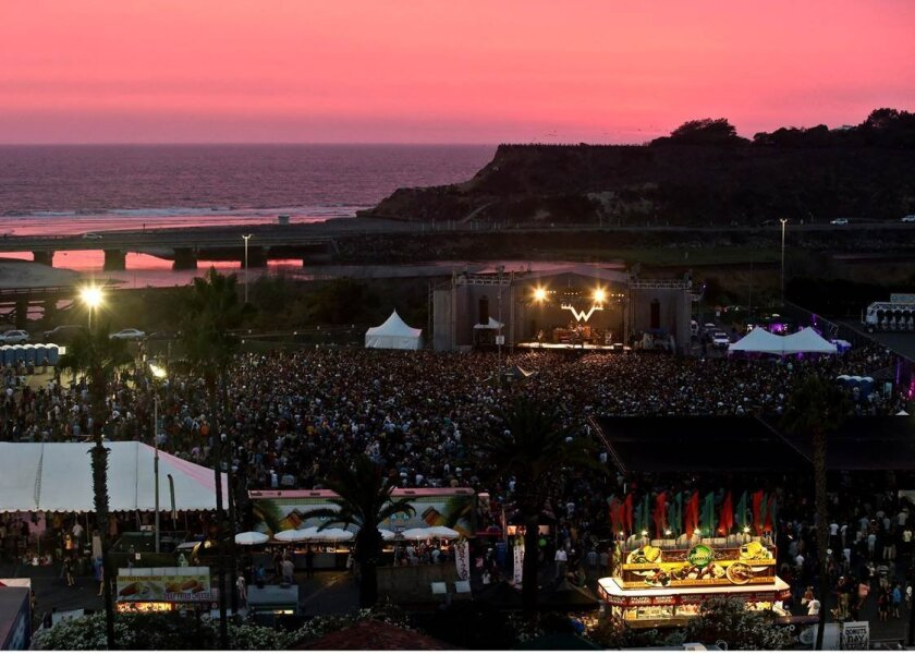 The popular setting for the racetrack concert series. Courtesy photo