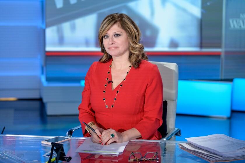 Fox News host Maria Bartiromo