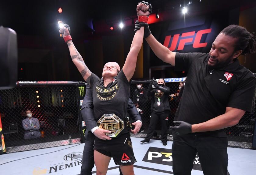 Amanda Nunes retained her title against Felicia Spencer during UFC 250 in Las Vegas.