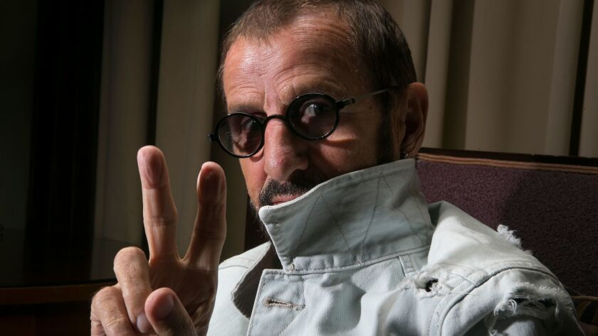 Former Beatles drummer Ringo Starr and His All-Starr Band will be at Planet Hollywood in October.