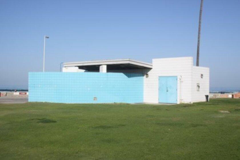 The new Kellogg Park North Comfort Station in La Jolla Shores. Photo by Ashley Mackin