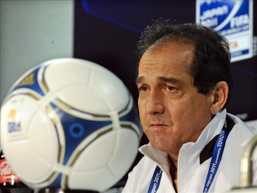 El entrenador del Santos brasileño, Muricy Ramalho. EFE/Archivo