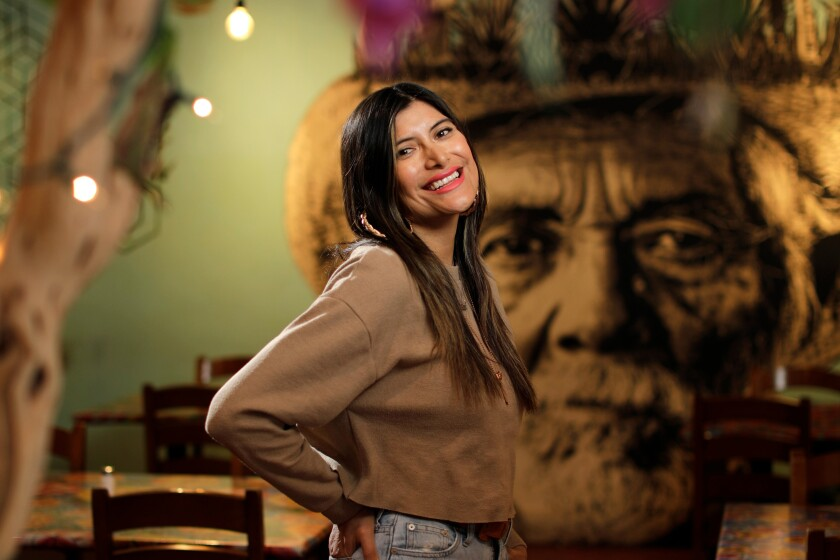 Bricia Lopez, along with her siblings, is the co-owner of Guelaguetza