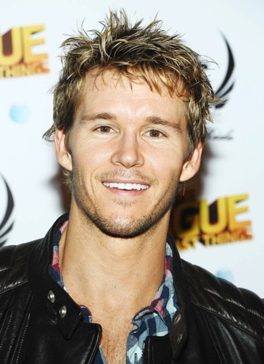 """Some men are asking for hair highlights like those of """"True Blood's"""" Ryan Kwanten."""
