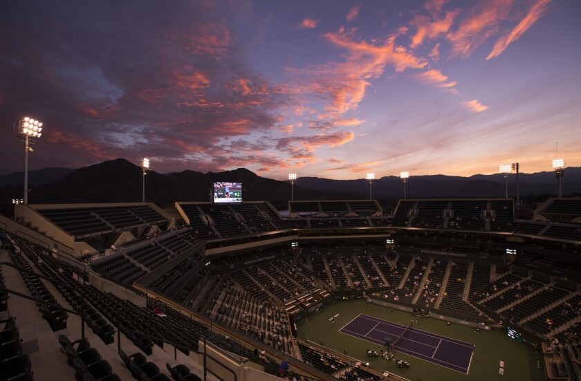The 2020 BNP Paribas Open at Indian Wells has been canceled because of the coronavirus outbreak.