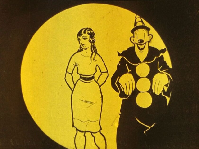 """The 1926 animated short """"Koko's Queen,"""" an """"Out of the Inkwell"""" cartoon, is one of many American silent films found at the EYE Filmmuseum in Amsterdam."""