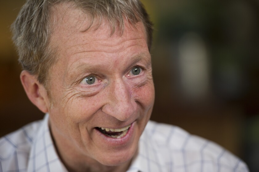 Billionaire Tom Steyer became the latest candidate to join the race for the Democratic presidential nomination when he announced his candidacy July 9.