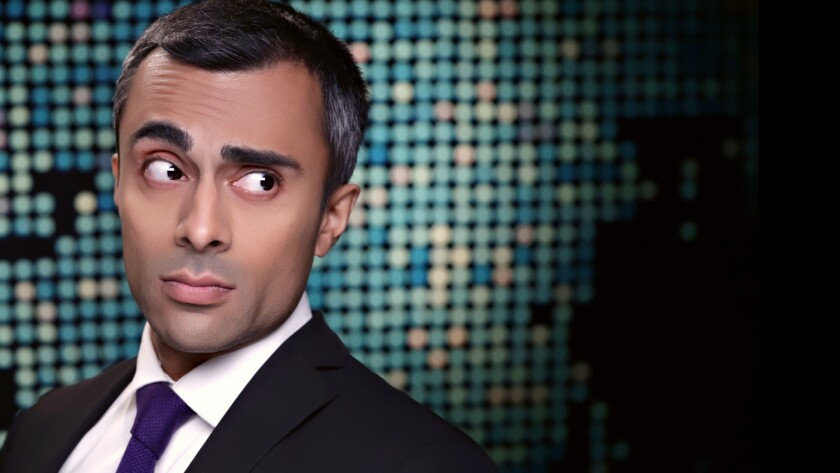 """Pardis Parker created and stars in the new Comedy Central Web series """"Mideast Minute."""""""