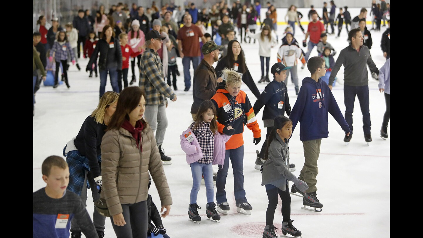 Photo Gallery: Great Park Ice & FivePoint Arena in Irvine opening day