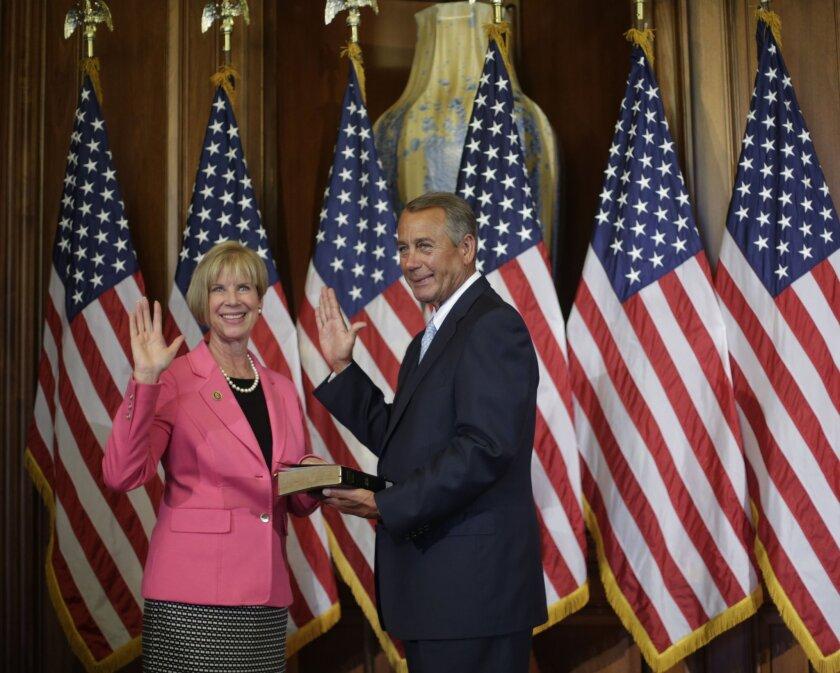 John Boehner, Janice Hahn