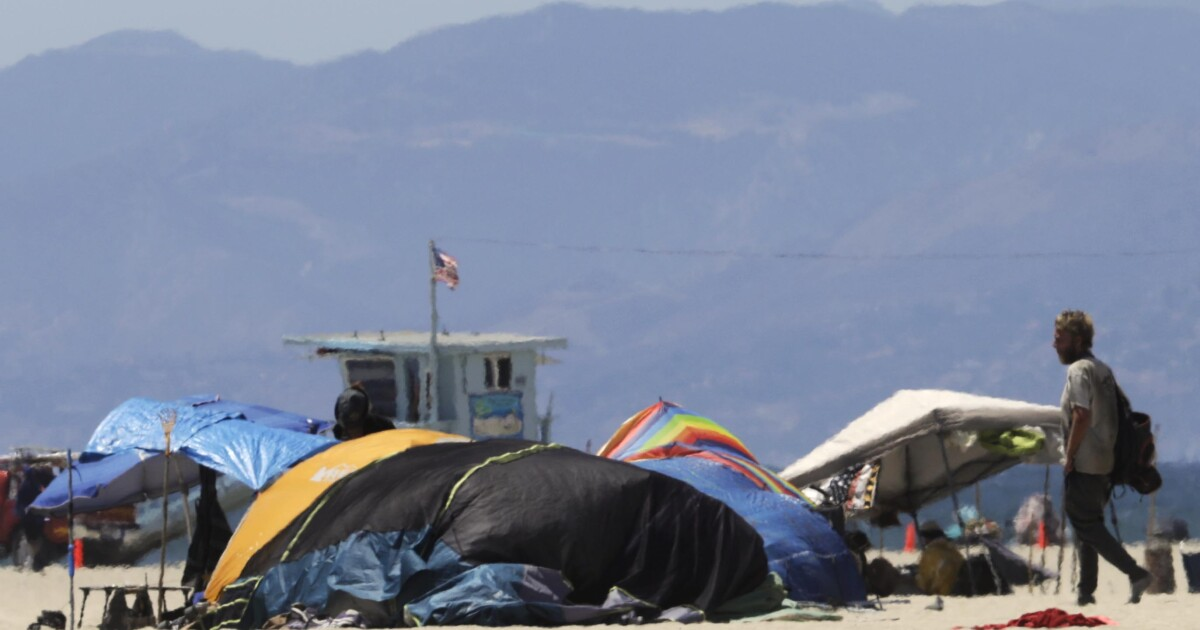 Letters to the Editor: L.A.'s encampment ban is unwieldy and inhumane