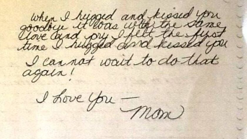 Tammy Grodt's letter to her son as he was leaving for Syria.