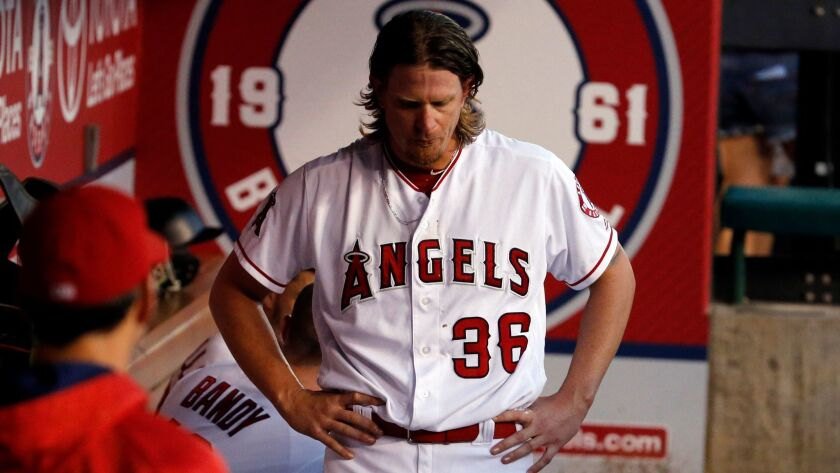 Jered Weaver was 150-93 in his Angels career and finished in the top five of Cy Young voting three times.