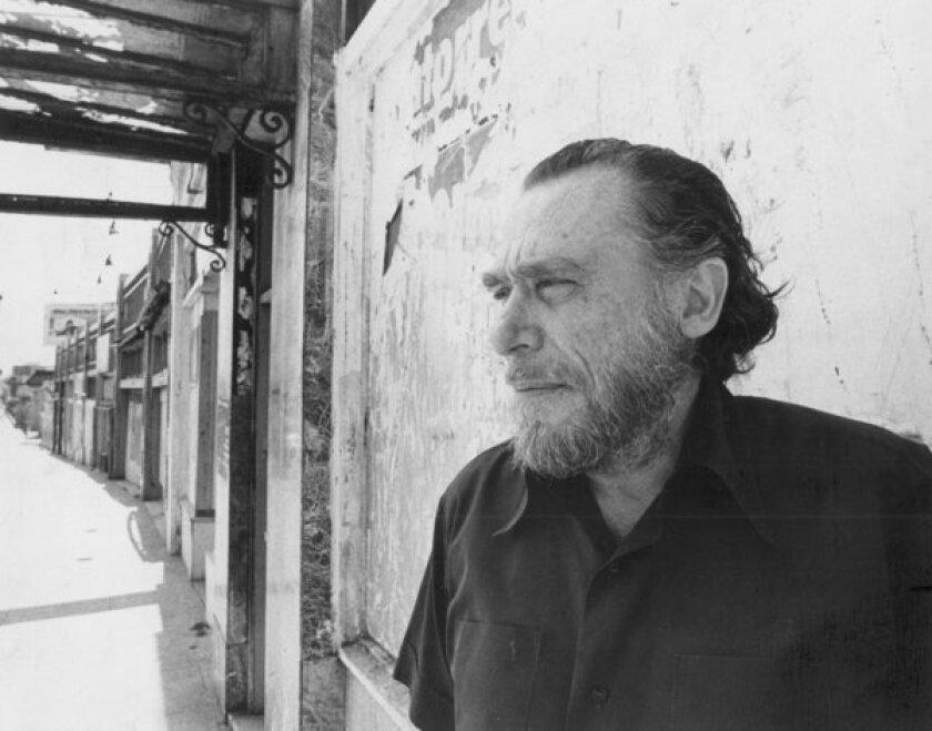 Author and poet Charles Bukowski.