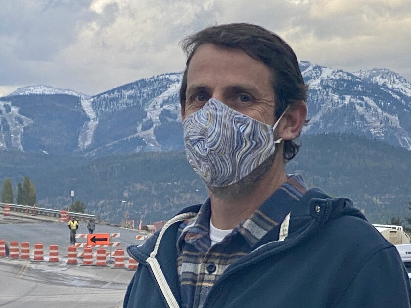 Whitefish City Council member Steve Qunell urged restrictions to curb the spread of the coronavirus.