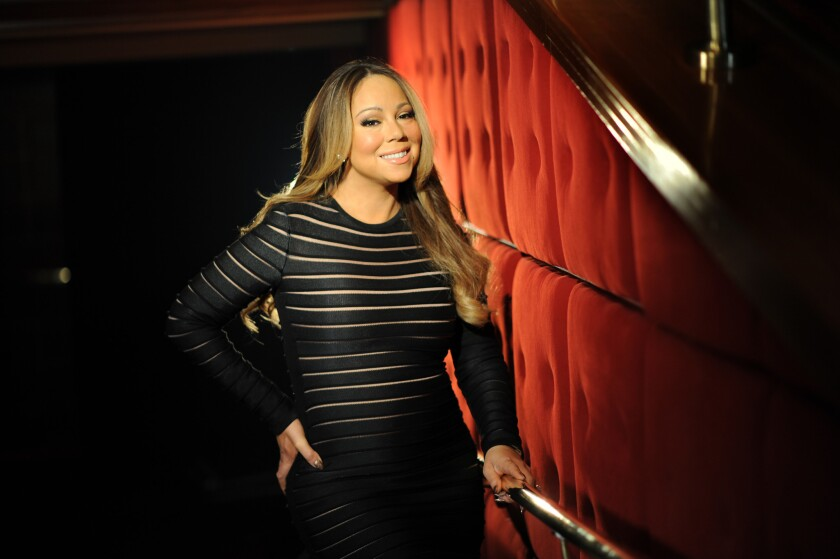 """Mariah Carey appeared on """"Watch What Happens Live"""" on Sunday night."""